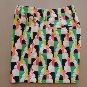 Crown & Ivy Women's Stretchy Multicolor Shorts